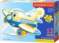 Puzzle 12 Maxi Castorland B-120031 Samolot - Sunny Flight