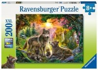 Puzzle 200 Ravensburger 126866 Wilki