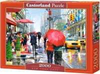 Puzzle 2000 Castorland C-200542 New York - Cafe