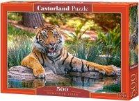 Puzzle 500 Castorland B-52745 Tygrys Sumatrzański