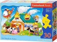 Puzzle 30 Castorland B-03525 Strażacy w Akcji