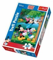 Puzzle 60 Trefl 17198 Myszka Miki - Piknik z Donaldem