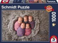 Puzzle 1000 Schmidt 58301 Pięcioraczki