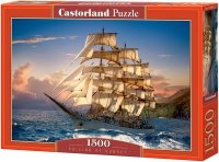 Puzzle 1500 Castorland C-151431 Żaglowiec - Sailing at Sunset