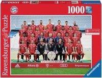 Puzzle 1000 Ravensburger 197583 Bayern Monachium 2017/2018
