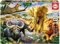 Puzzle 1000 Educa 16748 Zwierzęta Afrykańskie