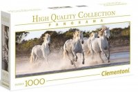 Puzzle 1000 Clementoni 39441 Białe Konie - Panorama