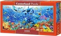 Puzzle 600 Castorland B-060375 Życie w Oceanie