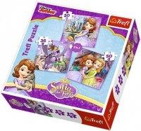 Puzzle 3w1 Trefl T-34814 Zosia i Przyjaciele