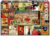 Puzzle 3000 Educa 17676 Opery - Kolaż