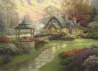 Puzzle 1000 Schmidt 58463 Thomas Kinkade - Dom ze Studnią