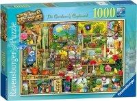 Puzzle 1000 Ravensburger 194988 Kredens Ogrodnika