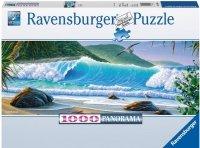 Puzzle 1000 Ravensburger 150663 Łap Fale - Panorama