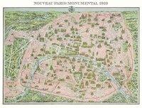 Puzzle 1000 Piatnik P-5428 Paryż - Mapa