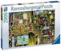 Puzzle 2000 Ravensburger 166428 Szalone Laboratorium