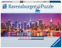 Puzzle 1000 Ravensburger 150786 New York - Manhattan - Panorama