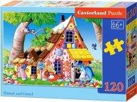 Puzzle 120 Castorland B-13333 Chatka Baby Jagi