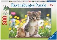 Puzzle 300 Ravensburger 130641 Kotek - Piskle