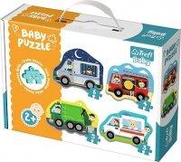 Puzzle Baby Classic Trefl T-36071 Pojazdy - Zawody