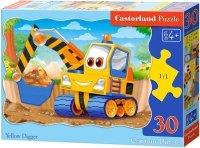 Puzzle 30 Castorland B-03464 Żółta Koparka