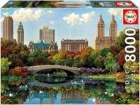Puzzle 8000 Educa 17136 Central Park Bow Bridge - Alexander Chen