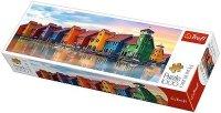 Puzzle 1000 Trefl 29034 Panorama - Groningen - Kolorowe Domy