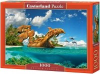 Puzzle 1000 Castorland C-103508 Życie Delfinów