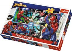 Puzzle 160 Trefl 15357 Spider-Man na Ratunek