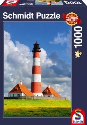 Puzzle 1000 Schmidt 58319 Latarnia Morska w Westerhever