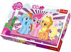 Puzzle 100 Trefl T-16228 My Little Pony - Przyjaciółki