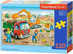 Puzzle 120 Castorland B-13180 Plac Budowy