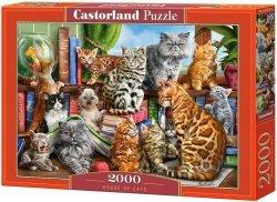 Puzzle 2000 Castorland C-200726 Kocie Spotkanie