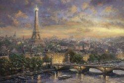 Puzzle 1000 Schmidt 59470 Thomas Kinkade - Paryż - Miasto Miłości