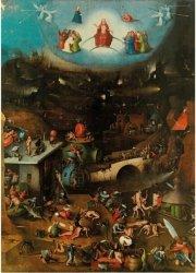 Puzzle 1000 Piatnik P-5474 Hieronim Bosch - Sąd Ostateczny