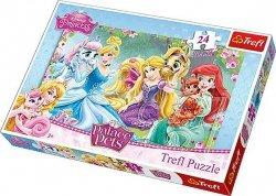 Puzzle 24 Maxi Trefl 14223 Księżniczki