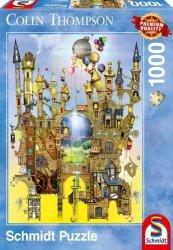 Puzzle 1000 Schmidt 59354 Colin Thompson - Zamek w Powietrzu