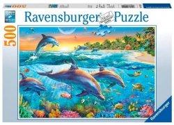 Puzzle 500 Ravensburger 142101 Delfiny