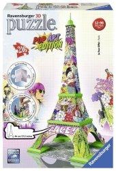 Puzzle 3D 216 Ravensburger 125982 Pop Art - Wieża Eiffla