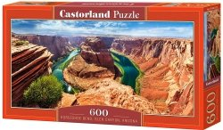 Puzzle 600 Castorland B-060122 Glen Canyon - ArizonaHorseshoe Bend