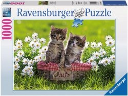 Puzzle 1000 Ravensburger 194803 Dwa Kotki
