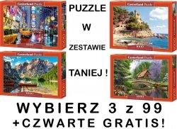 PUZZLE 1000 CASTORLAND ! ZESTAW 3 z 99 DO WYBORU ! + GRATIS PUZZLE !