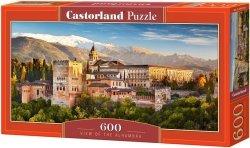Puzzle 600 Castorland B-060344 Widok na Alhambrę