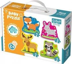 Puzzle Baby Classic Trefl T-36077 Zwierzęta Leśne