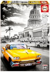 Puzzle 1000 Educa 17690 Taxi w Hawanie - Kuba