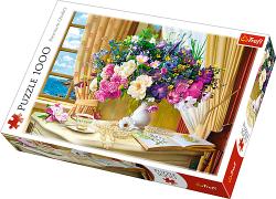 Puzzle 1000 Trefl 10526 Kwiaty o Poranku