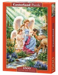 Puzzle 1500 Castorland C-151677 Anioły i Sarny