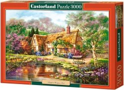 Puzzle 3000 Castorland C-300365 Copy of Twilight at Woodgreen Pond