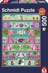 Puzzle 500 Schmidt 58214 Kolorowe Banderole