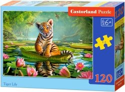 Puzzle 120 Castorland B-13296 Tygrysek