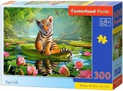 Puzzle 300 Castorland B-030156 Tygrys